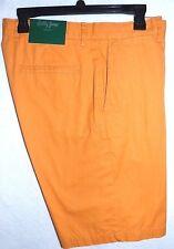 Bobby Jones 100% Cotton Golf Shorts*32*Dark Orange*Special Sale Price