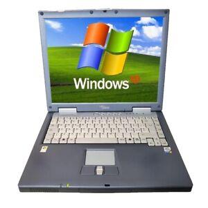 Notebook PC Portatile Windows XP Porta Seriale RS232 Parallela Pentium 4 Floppy