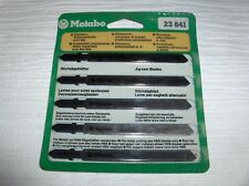 Jigsaw Blades Metabo 23641 For Soft Materials - 5 Blades Per Packet