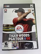Tiger Woods PGA Tour 08 PC Game (Used, with Manual & Product Key) DVD-ROM
