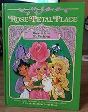 Vintage 1984 Rose-Petal Place Large Hard Back Book ~ Rose-Petals Big Decision ~