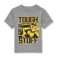 THE CHILDREN'S PLACE Toddler Boys Tough Stuff Truck Graphic Top Size 2T NEW