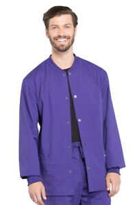 Cherokee Workwear WW Professionals WW360 Men's Warm-up Scrubs Jacket