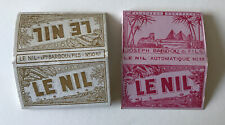 Vintage 1920s French Rolling Papers Le Nil X 2