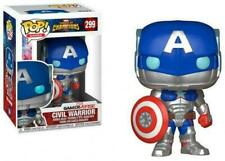 FUNKO POP! CIVIL WARRIOR MARVEL CAPTAIN AMERICA #299 BOBBLE HEAD AVENGERS NEW