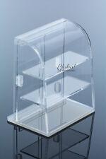 Dollhouse Miniatures Curved Acrylic Bakery Cake Shop Display Showcase