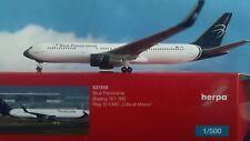 531559  Blue Panorama Boeing 767-300 città di Milano Herpa Wings 1:500