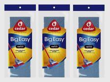 3 O-Cedar BIG EASY Flat Sponge Mop Refill Absorbant for Spills Xtra Large 146481