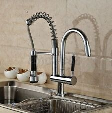 Chrome Commercial & Home Pull Out Spray Kitchen Sink Mixer Tap / Faucet Ksf079