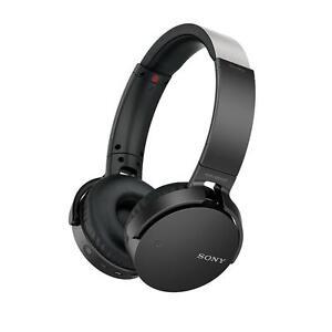 New Sony MDR XB650BT Over-the-Ear Wireless Headphones - Black
