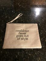 Urban Outfitters Cosmetic Case,  Bronze Vegan Leather New!