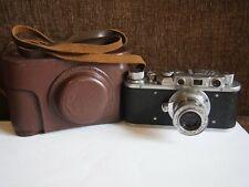 Rangefinder camera ZORKI-1 INDUSTAR-22 50mm f/3,5 mount M39 Lens