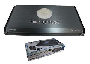 SoundStream 2500W 5 Channel Amplifier w/ LED Accents Pro Car Audio T5.2500DL