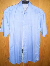 Van Laack - Herrenhemd hellblau - Gr. 40 [Kurzarm]