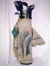 Lot of 14 Synergy Golf Bag Wilson Pro Staff Spalding Synergy MXL Golfmate Men's
