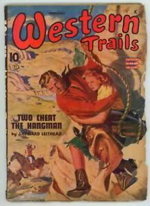Western Trails Feb 1945 Pulp