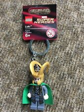Lego Super Hero Avengers Loki Keychain - New