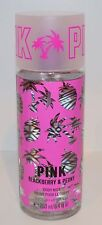 VICTORIA'S SECRET PINK BLACKBERRY PEONY BODY MIST SPRAY FRAGRANCE PERFUME LARGE