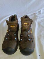 KEEN Key-Tech Utility Hiking Boot Waterproof Steel Toe Men's Sz 9 EE