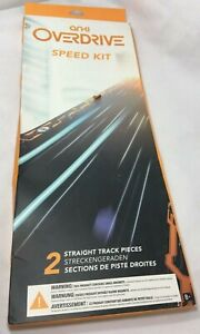 Anki Overdrive Expansion Track Speed Kit 2 Straight Track Pieces in Box