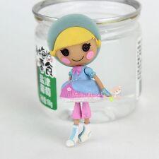 new blue 3Inch Original MGA Lalaloopsy Dolls Mini Dolls For Girl's Toy