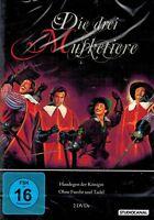 DOPPEL-DVD - Die drei Musketiere - Haudegen der Königin / Ohne Furcht und Tadel