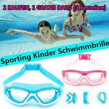 Sport Kinder Schwimmbrille Taucherbrille UV-Schutz Antibeschlag Schwimmen Sommer