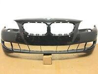 2011 2012 2013 BMW 5 Series 528i Front Bumper Cover w/ Sensor Hole OEM 11 12 13