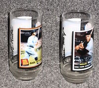 BABE RUTH & WILLIE MAYS 1993 MCDONALDS ALL TIME GREATEST TEAM LOT OF 2 GLASSES