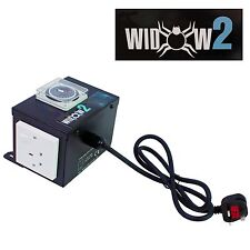 2 WAY PROFESSIONAL CONTACTOR RELAY CONTROL UNIT, BLACK WIDOW BOX, BUILT IN TIMER