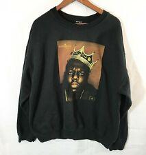 Biggie Smalls Notorious BIG Sweatshirt Brooklyn Mint Mens Sweater Size XL