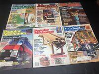 Vintage Lot of Mechanix Illustrated & Popular Mechanics Magazines