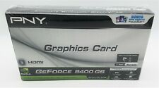 PNY NVIDIA GeForce 8400 GS 512MB DDR3 PCI Card VCG84512D3SPPB Low Profile NIB