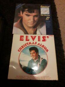 Elvis Vinyl Records. x2 LP's