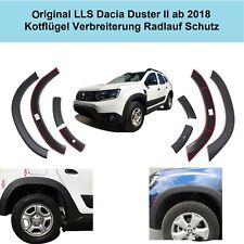 Radlauf Schutz für Dacia Duster II ab 2018 Kotflügel Verbreiterung