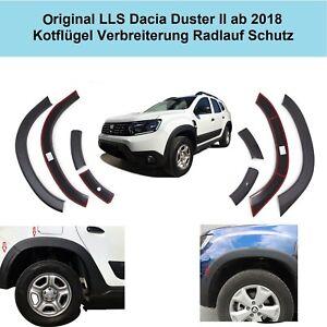 Original LLS Dacia Duster II ab 2018 Kotflügel Verbreiterung Radlauf Schutz