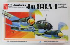 AMT Junkers Ju88A-4 German WWII Bomber 1/48 Scale Model Kit AMT933/12