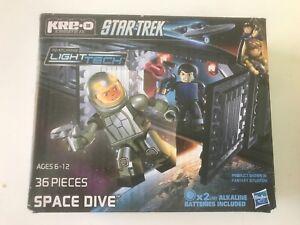 NEW- KRE-O Star Trek SPACE DIVE 36 Pc. Set