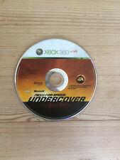 Need for Speed: Undercover Para Xbox 360 * * disco solamente