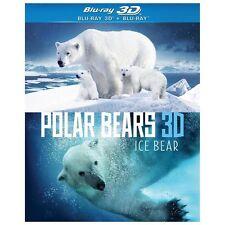 Polar Bears: Ice Bear (Blu-ray Disc, 2013, 3D)