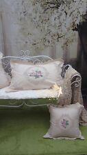 3Pcs~Vintage Battenburg Lace Pillow Case~Beige/Ecru~Princess' Boudoir~Wedding~