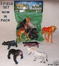 Jouet Animal Sauvage Figurine D'action Pack De 5 Figurines D'action Nouveau