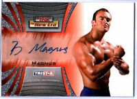 TNA Magnus 2010 Tristar New Era Autograph Card