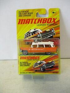 Matchbox Lesney Edition 1963 Cadillac Ambulance