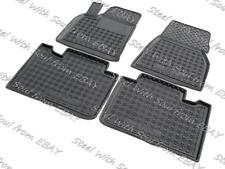 Fully Tailored Rubber / Set Car Floor Mats Carpet for TESLA MODEL S 2012—2018