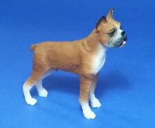 Miniature Dollhouse Doll House Boxer Dog 1:12 Scale New A2184