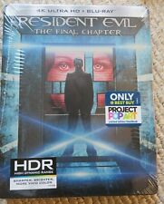 Resident Evil: The Final Chapter (4K Ultra HD + Blu-ray) STEELBOOK Best Buy