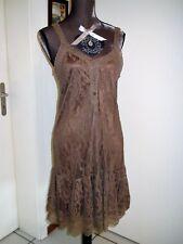 robe été taupe irisé PALME taille S/M