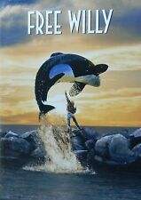 FREE WILLY(1993) 10th Anniversary Special Edition Keiko The Orca Whale SEALED