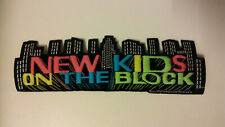 New Kids on The Block NKOTB Vintage patch superstrip large music boy band 5